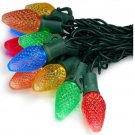 C7 LED Multi Color Christmas Lights 25 Count