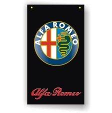 Alfa Romeo 3D LogoShow Room Banner