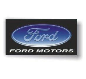 Ford Motors 3D Logo Flag