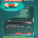 Franklin Electronic Handheld Pocket UK Scrabble Master Word Game