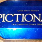 Pictionary Collector's Edition Board Game Pencil Tin Box 2001