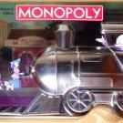 Train Collector Edition Monopoly Board Game Token Series Tin Box 2003