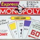 Tomy Parker Brothers Japanese Monopoly Express Card Game 1993