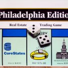 Philadelphia Pennsylvania Edition Monopoly Board Game 1996