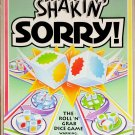 Parker Brothers Shakin' Sorry! Dice Game 1992