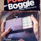 Parker Brothers Boggle Game Pocket Travel Edition 1979
