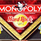 Hard Rock Cafe Edition Monopoly Board Game 2002
