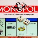 Danish Monopoly Board Game Denmark 1996