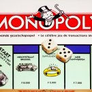 Belgian Bilingual French Dutch Monopoly Board Game Belgium 1996