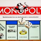 Czech Republic Monopoly Board Game 1996