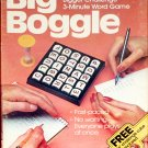 Big Boggle Word Search Game Parker Brothers 1983