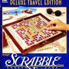 Scrabble Deluxe Travel Edition Crossword Game Milton Bradley 1990
