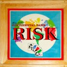 Parker Brothers Nostalgia Game Series Risk Continental Game Wooden Box 2003