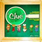 Parker Brothers Nostalgia Game Series Clue Detective Game Wooden Box 2002
