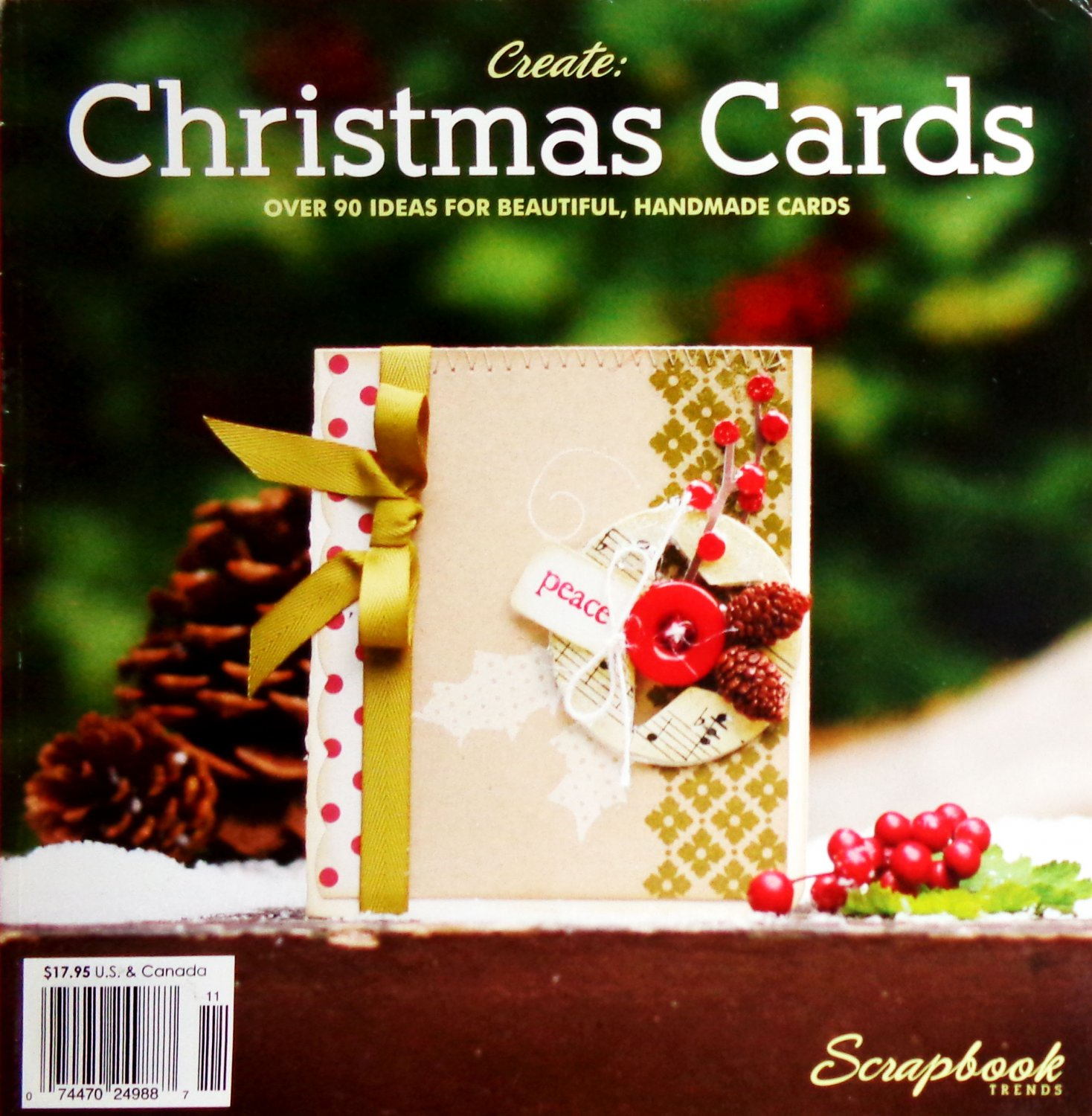 Scrapbook Trends Create Christmas Cards Magazine 2010