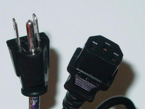THICK Playstation 3 PS3 AC Power cord Powercord 6 FT