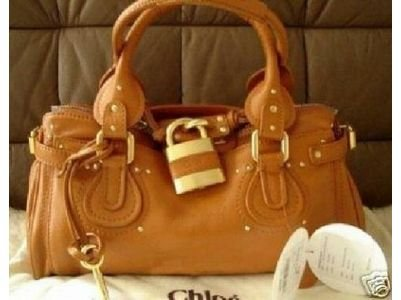 Chloe Paddington bag in Smoking Camel