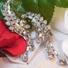 Eisenberg Clear Rhinestone Earrings