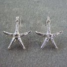 Starfish Earrings 3d