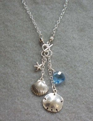 Sea Life Dangle Charm Necklace