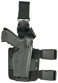 Safariland: Model 6005 SLS Tactical Holster with Quick Release Leg Harness, Tactical Black