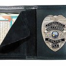 Boston Leather Model 100 Book Style Badge Case