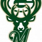 5 Inch Wisconsin Mashup Superfan Vinyl Decal Milwaukee Bucks Brewers Green Bay Packers 00001