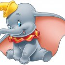 4 Inch Dumbo The Elephant Vinyl Decal Stickers Yeti Hardhat Cellphone Tablet Laptop