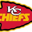 2 Inch Full Color Kansas City Chiefs Logo Vinyl Decal Cellphone Hardhat Sticker 00006