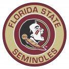 2 Inch Full Color Florida State Seminoles Vinyl Decal Cellphone Hardhat Sticker 00011