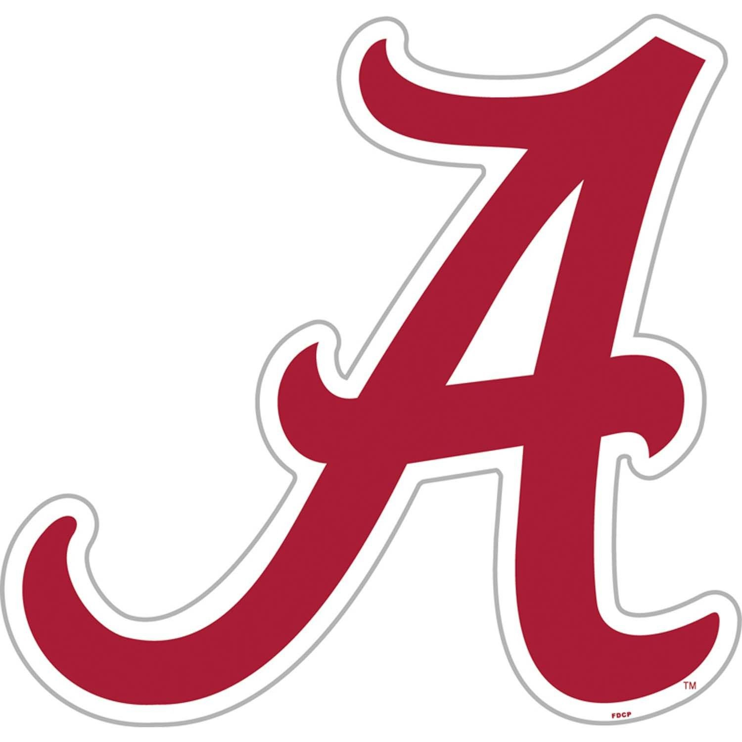 4 Inch Full Color Alabama Crimson Tide Vinyl Decal Laptop Truck Car Window Sticker 00014