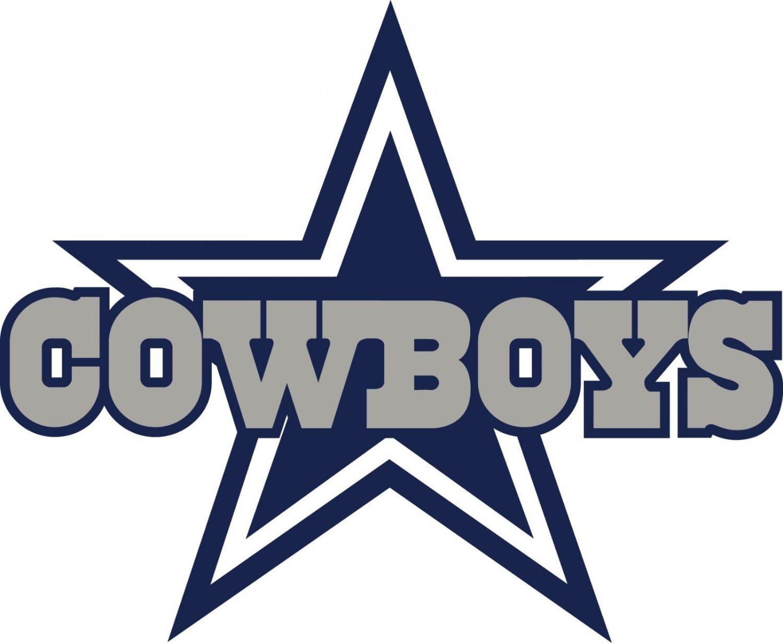 #00023 5 Inch Full Color Dallas Cowboys Thru Star Vinyl Decal Laptop Car Truck Window Sticker