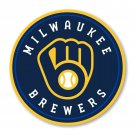 #00060 2 Inch Full Color Milwaukee Brewers NEW Logo Vinyl Cellphone Decal Hardhat Sticker