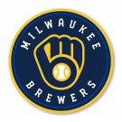 #00060 4 Inch Full Color Milwaukee Brewers NEW Logo Vinyl Yeti Decal Laptop Car Truck Window Sticker