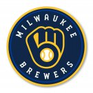 #00060 5 Inch Full Color Milwaukee Brewers NEW Logo Vinyl Decal Laptop Car Truck Window Sticker