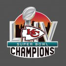 Full Color Kansas City Chiefs 2020 Superbowl Champions Yeti Decal Laptop Car Truck Window Sticker