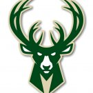 4 Inch Full Color Milwaukee Bucks Logo Vinyl Decal Car Truck Window Yeti Laptop Sticker
