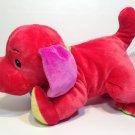 "Baby Gund Brights Colorfun Pupps Puppy Dog Plush Red Stuffed Animal 10"""