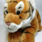 FAO Schwarz Tiger Plush Cub Stuffed Animal Wild Cat Soft Toy 12""