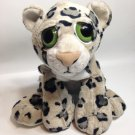 Petting Zoo Cheetah Bright Eyes Leopard Cat Cub Plush Jaguar Stuffed Animal 14""