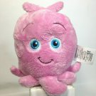 """Disney Pearl Pink Octopus Plush Finding Nemo Soft Beanie Toy 6"""""""