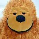 """Toy Factory Brown Gorilla Stuffed Ape Plush Hairy Fuzzy Red Eyes Toy 12"""""""