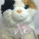 """Aurora Calico Cat Plush Kitten JUMBO Esmeralda Flopsie Stuffed Animal 28"""" Kitty"""