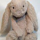 JellyCat Bashful Beige Bunny Rabbit Stuffed Plush 12in.