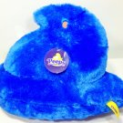 "Just Born PEEPS Chick Blue Fuzzy Plush 13"" Chicken Stuffed Animal Easter Toy 13"""