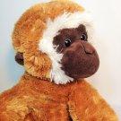 "Aurora Gibbons Monkey Plush Chimp Chimpanzee Plush Stuffed Animal 14"""