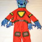 Disney Store Lilo And Stitch Orange Space Costume Kids XS Halloween SMALL