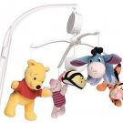 Disney Winnie Pooh Musical Mobile Music Baby Nursery Eeyore Tigger Piglet Dolly