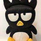 "Sanrio Badtz Maru Nylon Plush Soft Stuffed Animal Penguin Toy 12"""