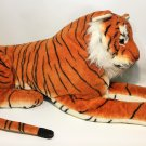 Tiger Plush GIANT Realistic 3' Ft Bengal Jungle Cat Wild Animal Jumbo Fun Toys
